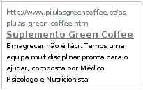 Suplemento Green Coffee